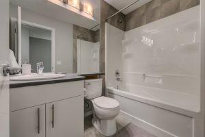 New home builder ensuite bathroom in Edmonton