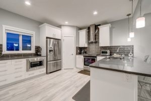 Kitchen of a new home in Edmonton