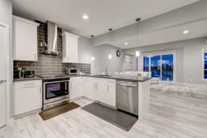 Caspia townhomes kitchen