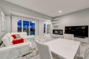 Living room in caspia townhomes, Edmonton