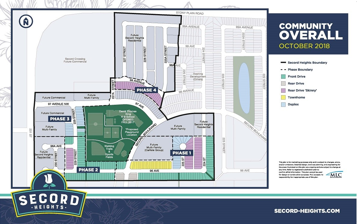 Secord Heights Community Map