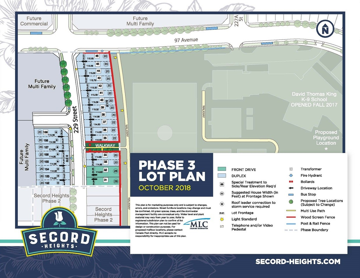 Secord Heights Phase 3 Map