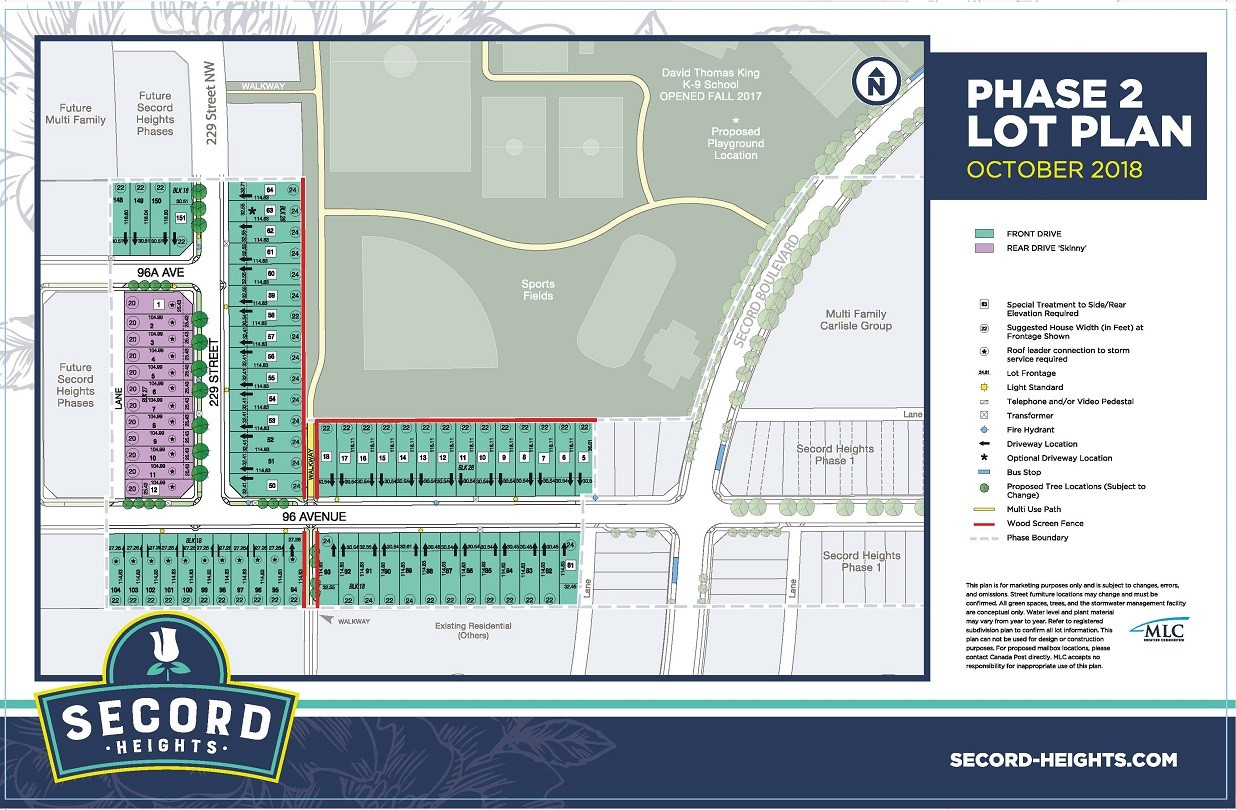 Secord Heights Phase 2 Map