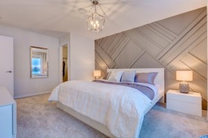 Master bedroom by new home builder City Homes Master Builder