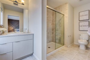 Townhome bathroom in South Edmonton