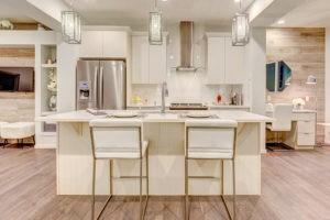 South Edmonton townhome kitchen