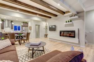 Main living area, South Edmonton, City Homes Master Builder