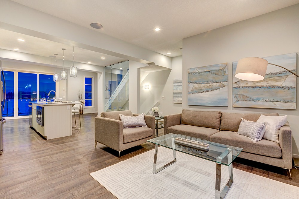 Main living area from new home specialist City Homes Master Builder
