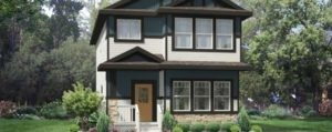 Single family home in Edmonton built by New Home Builder City Homes Master Builder