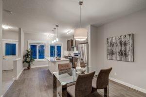 Edmonton new home builder kitchen