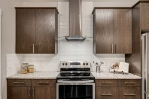 Kitchen by Edmonton home builder City Homes