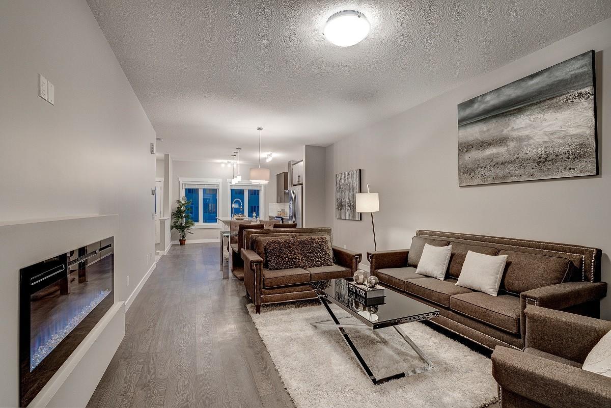 City Homes Master Builder duplex home in Edmonton