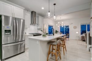 City Homes Single Family kitchen, Secord Heights