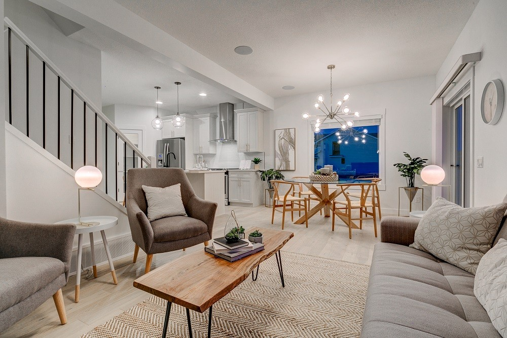 Main living space of single family home in Secord Heights