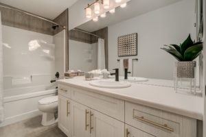 Main Bathroom of City Home showhome in Secord Heights