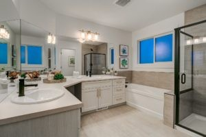 Master ensuite of single family home in Secord Heights
