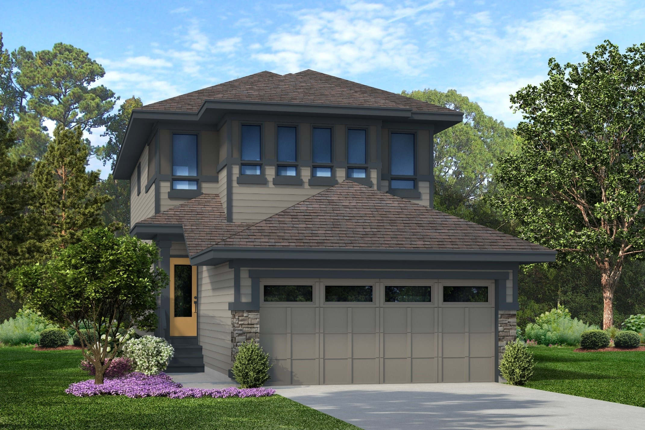 Attached Garage Single Family Home