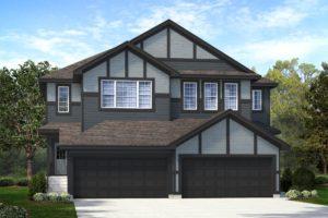 Duplex Home North Edmonton by City Homes Master Builder