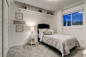 Children's room in north edmonton duplex showhome