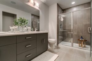 Main bath built by new home builder City Homes Master Builder