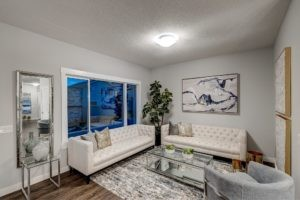 Single family new home by Edmonton home builder