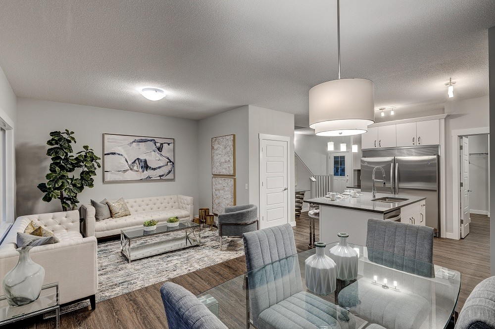Single family new home by Edmonton home builder City Homes
