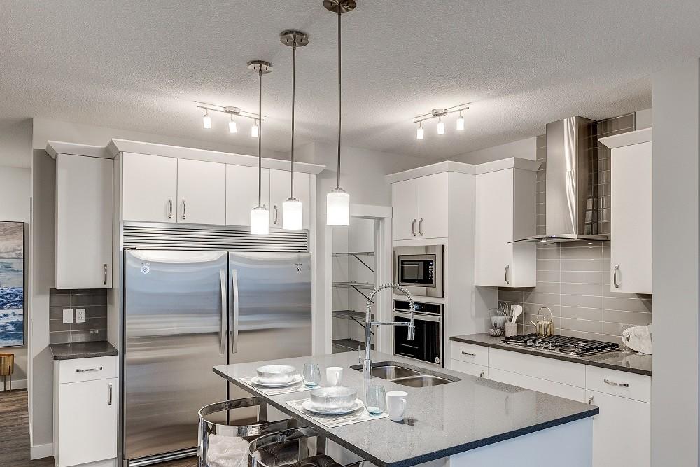 Standard Kitchen of Edmonton Single Family Home