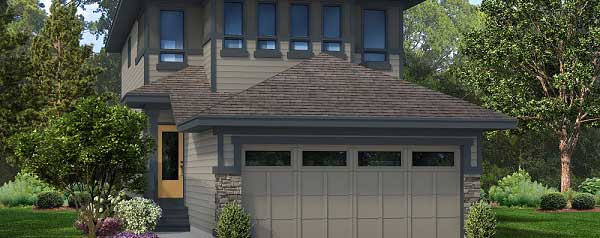 Single family home built by City Homes in Secord Heights