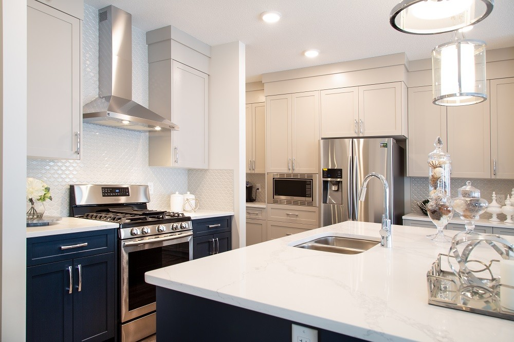 Kitchen in single family home by City Homes Master Builder