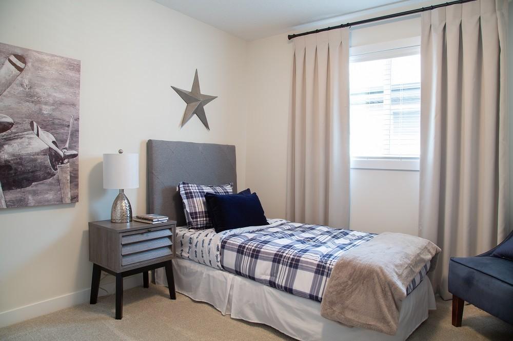 Kids room in north Edmonton by City Homes Master Builder