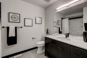 Edmonton home builder City Homes Master Builder Castor Model bathroom