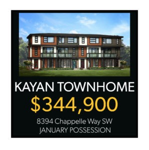 Townhomes in Chappelle