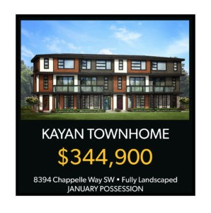 Chappelle Townhome Black Friday Sale