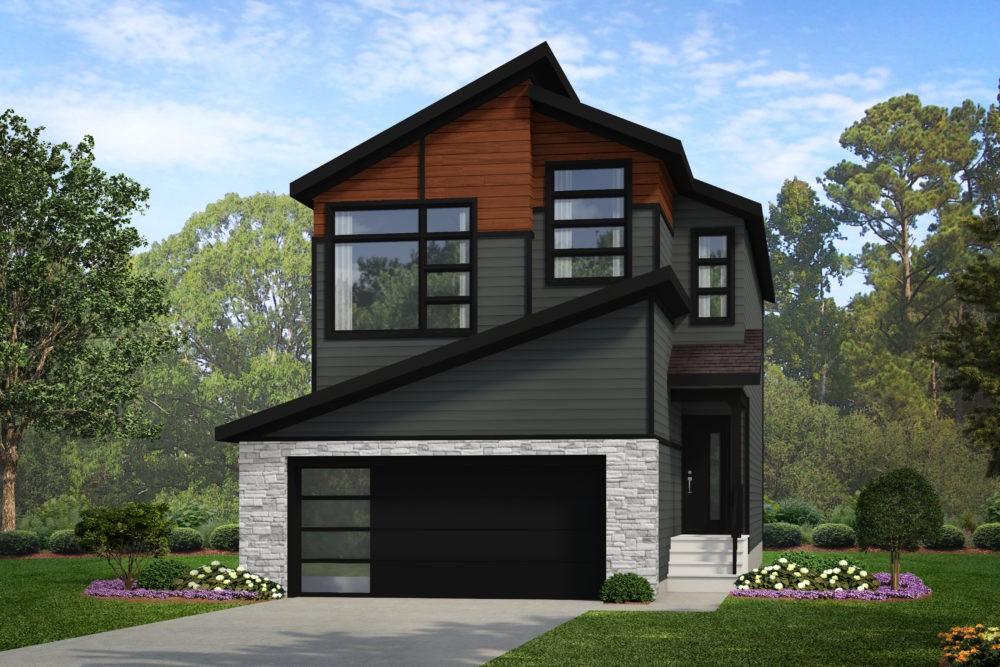 Castor M New Home Model in Edmonton