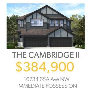 McConachie Solstice north edmonton duplex for sale