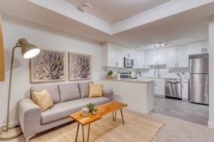 Basement Suite in Sicily Showhome by City Homes Master Builder