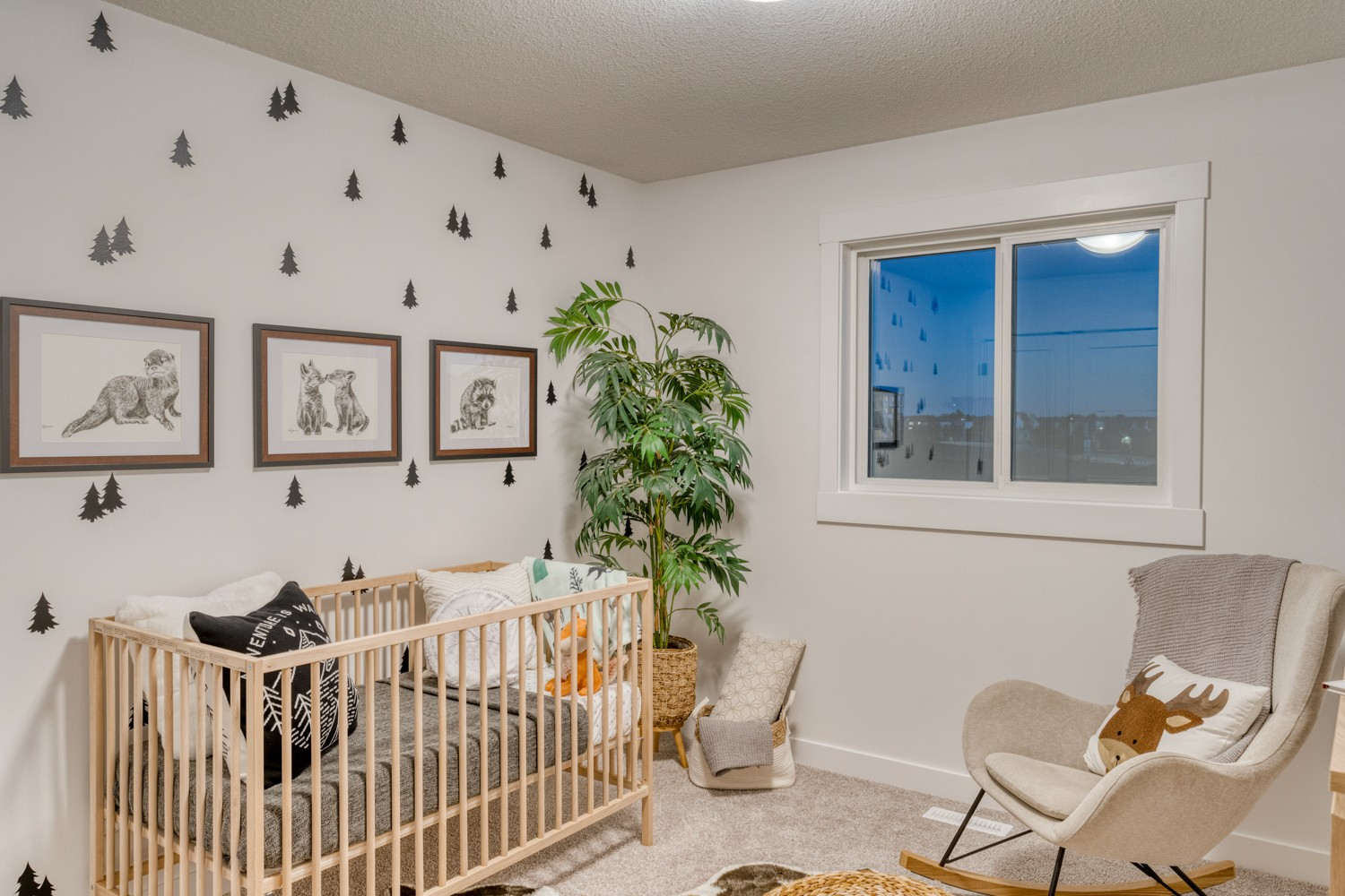 Baby Room in Sicily Showhome in Secord Heights