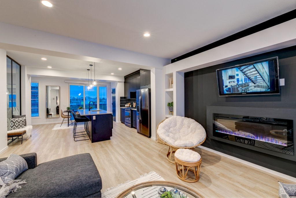 Caspia Townhomes in South Edmonton