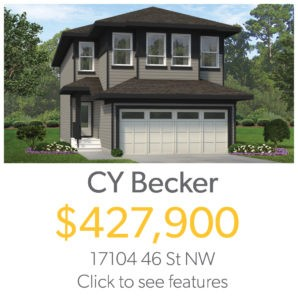 Single Family Home for Sale in North East Edmonton by City Homes Master Builder