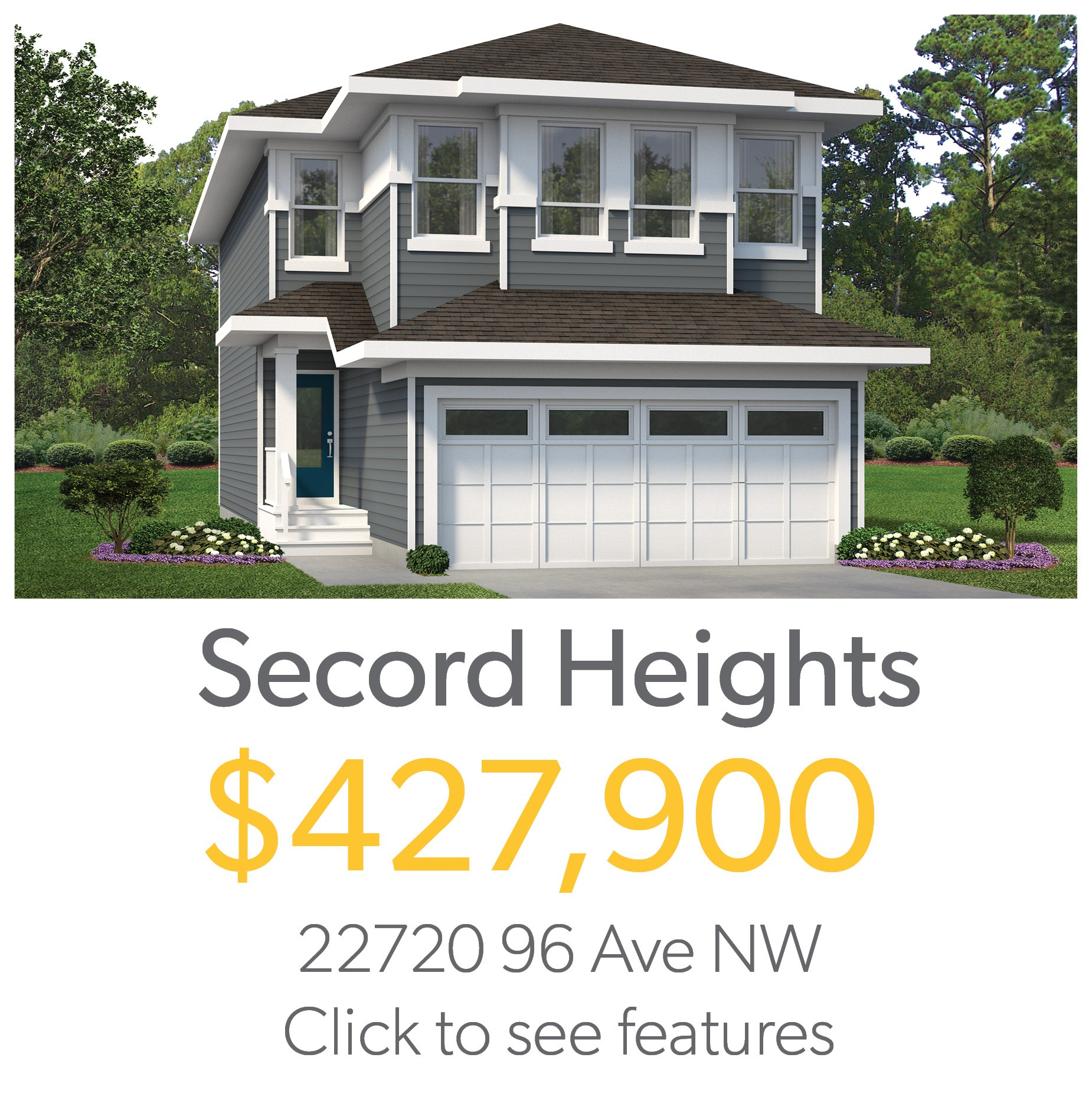 Home for sale in Secord Heights Edmonton