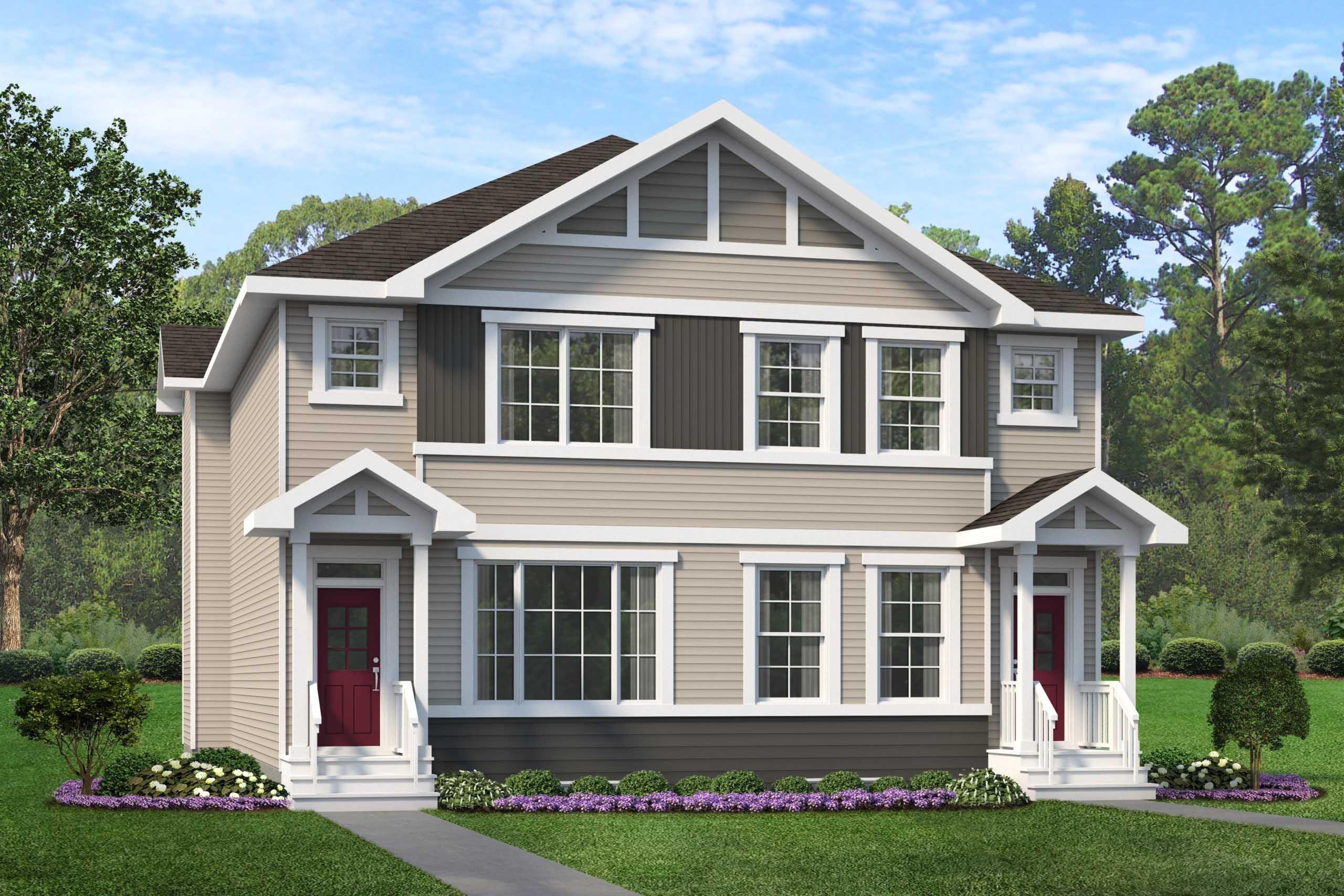 Duplex Home in West Edmonton by City Homes Master Builder
