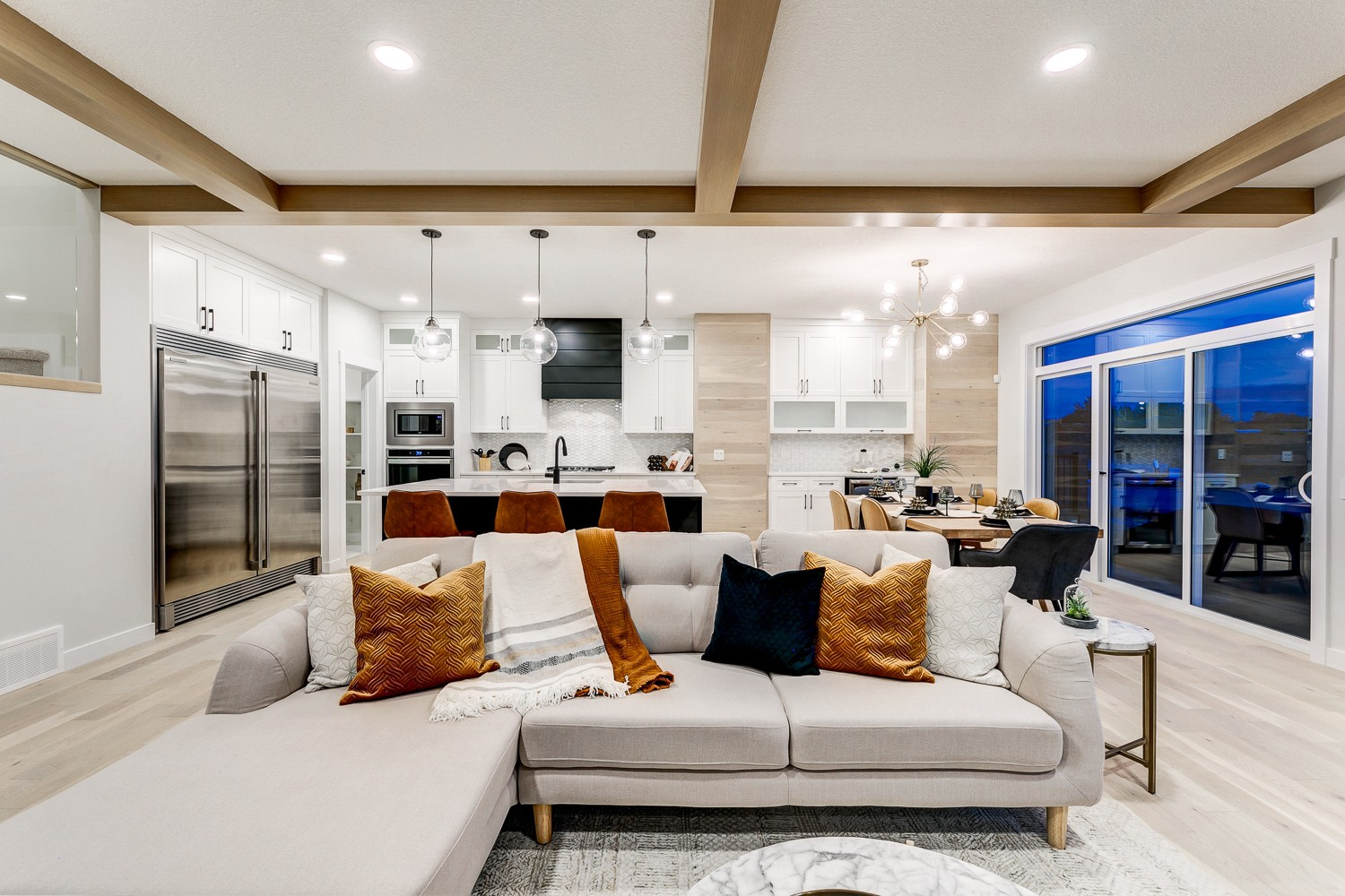 Showhome photos of City Homes Master Builders Showhome in Kinglet by Big Lake