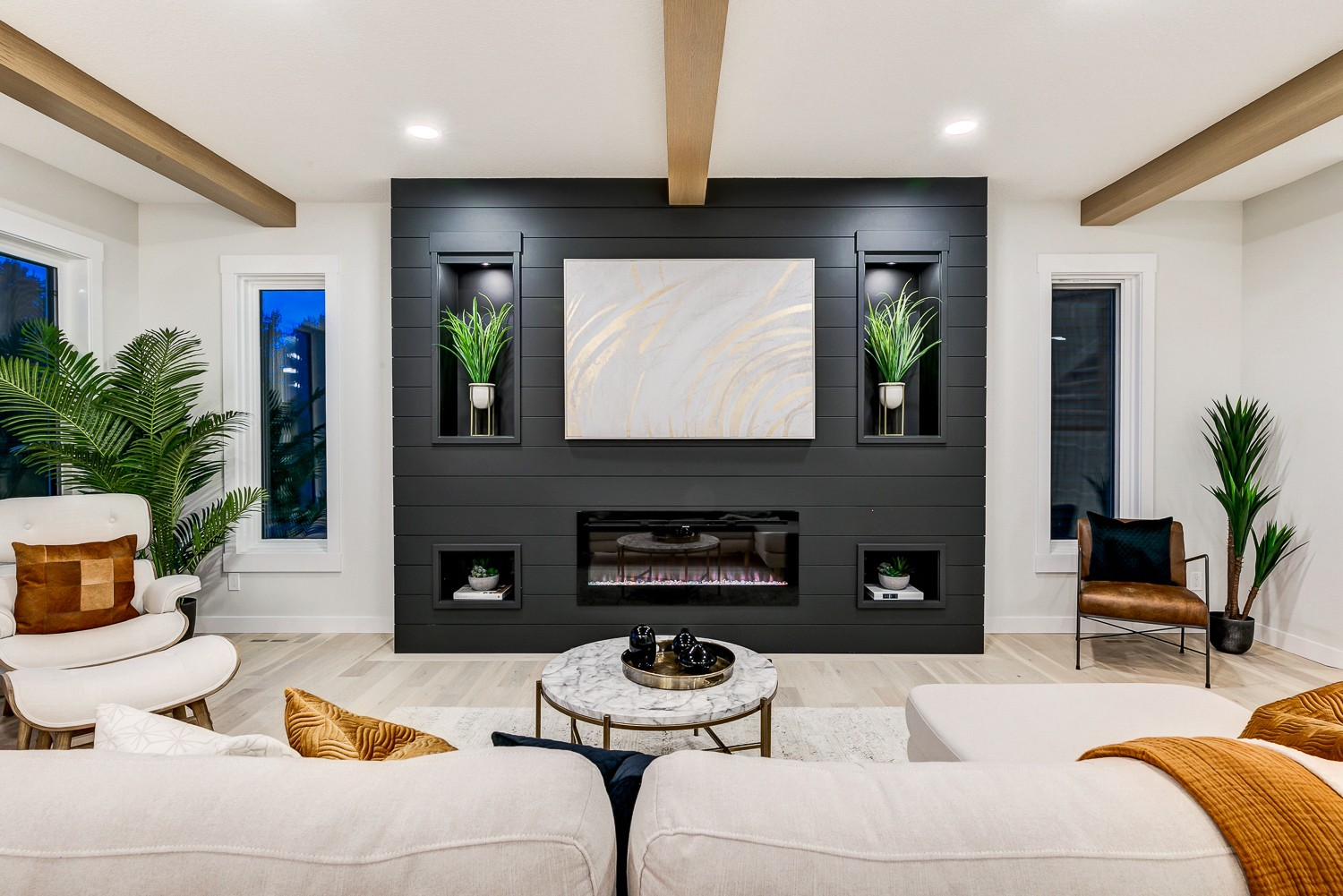 Showhome in Kinglet by Big Lake build by City Homes Master Builder