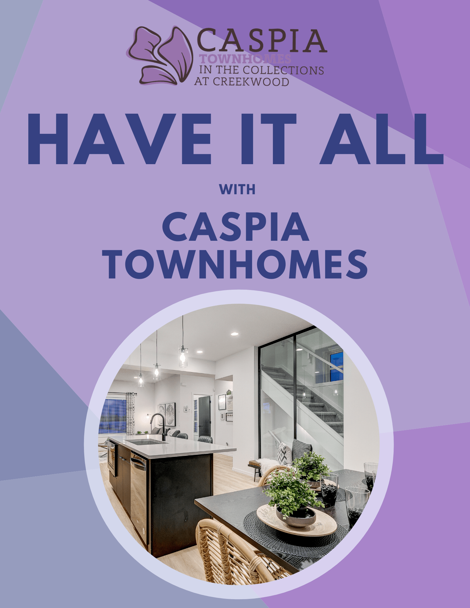 South Edmonton Caspia Townhomes by City Homes Master Builder Promotional Offer