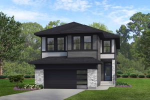 Rendering of Kinglet by Big Lake Showhome