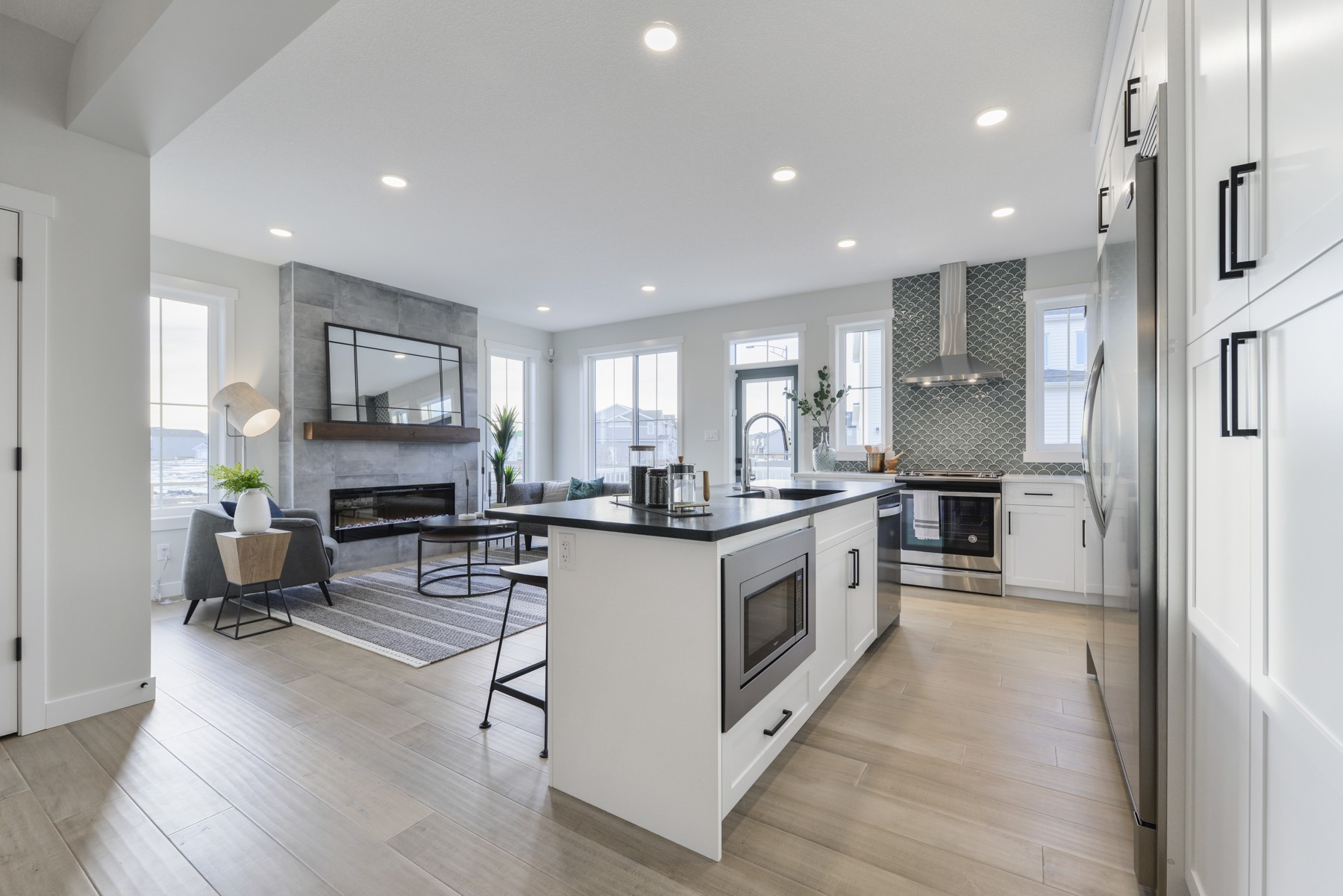 Single family home in west edmonton by City Homes Master Builder