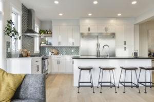 Kitchen by edmonton home builder City Homes