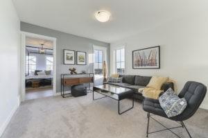 2nd floor Bonus Room in Stewart Greens showhome by City Homes Master Builder