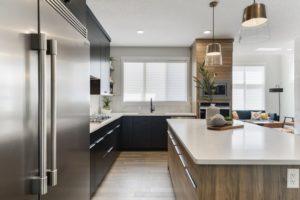 Kitchen by Edmonton Home Builder