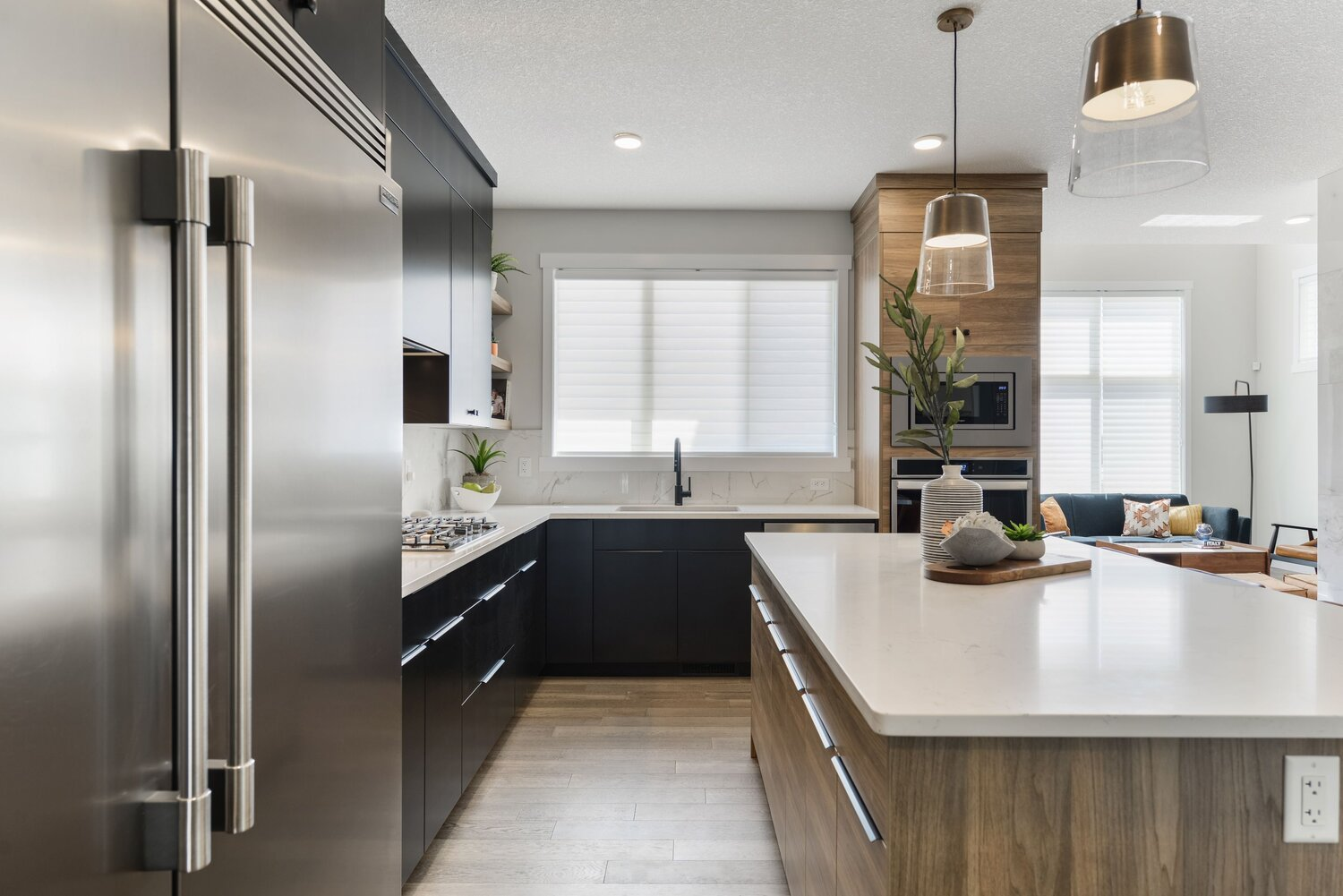 Kitchen by Edmonton Home Builder